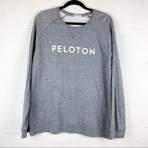 Peloton | XL | gray marled raglan long sleeve